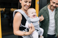 Ergobaby Omni 360 Cool Air Mesh Carrier -  Pearl Grey