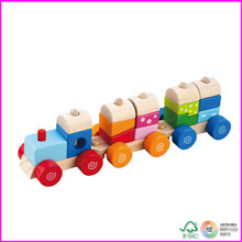 Wooden Pull Along Activity Train