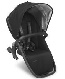 UPPAbaby VISTA V2 Rumble Seat - Jake (Black/Carbon Matt Fabric Black Leather)