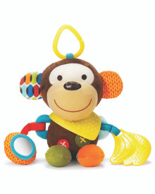 Skip Hop Bandana Buddies Activity Toy - Monkey