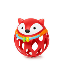 Skip Hop Explore & More Roll-Around Rattles - Fox