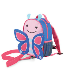 Skip Hop Zoolet Mini Backpack with Rein - Butterfly