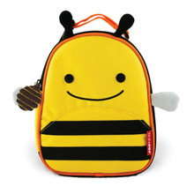 Skip Hop Zoo Lunchies Insulated Lunch Bag - Bee