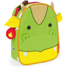 Skip Hop Zoo Lunchies Insulated Lunch Bag - Dragon