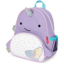 Skip Hop Zoo Little Kid Backpack - Narwhal