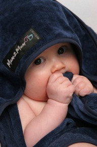 Mum 2 Mum Hooded Towels - Navy