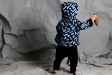 Reversible Hooded Jacket - Denim