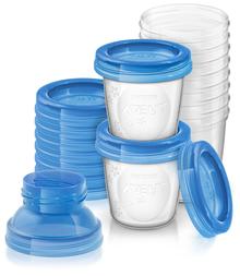 Philips AVENT Breast Milk Storage Cups 180ml 10pcs