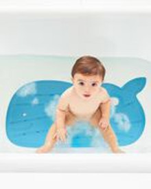 Skip Hop Moby Non-Slip Bath Mat - Blue