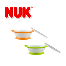 NUK No Mess Suction Bowls with lids