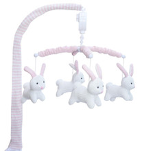 Living Textile Musical Mobile Set - Bunny