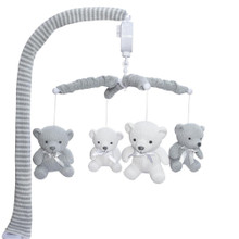 Living Textile Musical Mobile Set - Bear