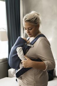 Baby Bjorn Carrier Mini 3D Jersey - Dove Blue