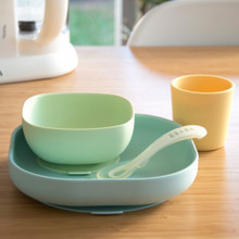 Beaba Silicone Suction 4pc Meal Set