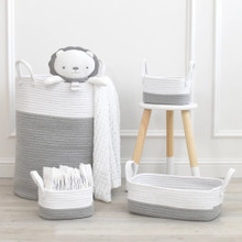 Living Textiles 3pc Storage Set - Grey