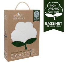 Smart-Dri Organic Mattress Protector - Bassinet