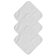 Mum 2 Mum Face Cloth - White 6 Pack