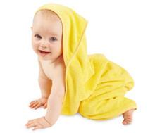 Mum 2 Mum Hooded Towels - Yellow
