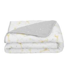Living Textiles Jersey Cot Comforter - Noah/Grey Stars