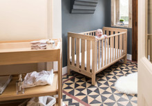 Daintree 3-in-1 Cot - Almond