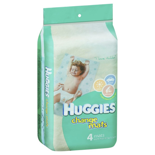 Huggies Disposable Baby Change Mats