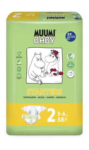 Muumi Baby Nappies Starter 58
