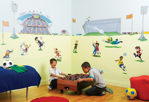 Fun to See - Soccer Room Make Over Kit