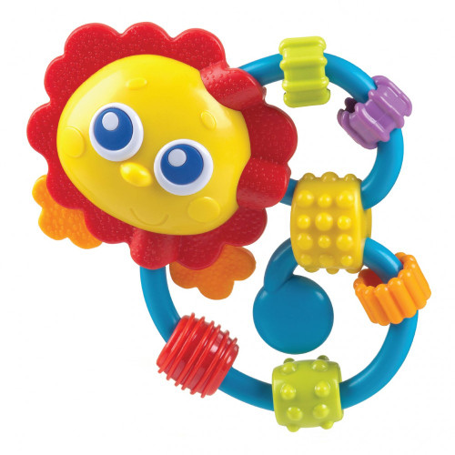 Playgro Curly Critters Lion Rattle