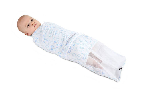 Mum 2 Mum Summer Dream Swaddle -  Small - Bubble Blue