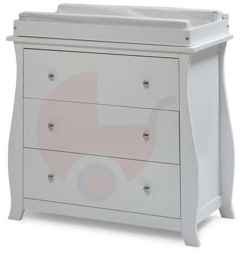 Super Nanny Regal 3 Drawer Changer - White