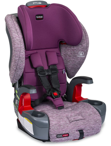 Britax Grow With You ClickTight Booster Car Seat - Mulberry