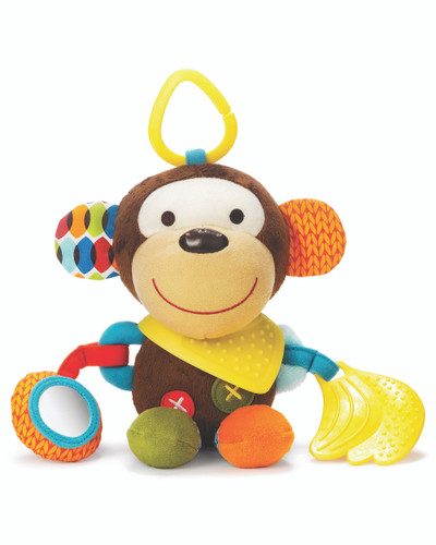 Skip Hop Bandana Buddies Activity Toy - Monkey