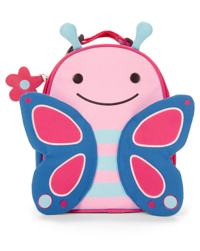 Skip Hop Zoo Lunchies Insulated Lunch Bag - Butterfly