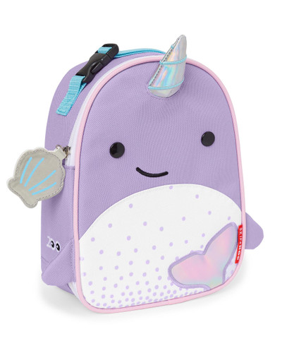 Skip Hop Zoo Lunchies Insulated Lunch Bag - Narwhal