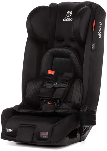Diono Radian 3RXT All-in-One Convertible Car Seat - Black Jet