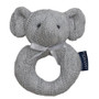 Buy  Living Textile Cable Knit Rattle - Elephant Online at  Babies