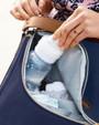 Skip Hop Curve Diaper Bag Satchel - Navy