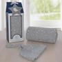 Living Textile Swaddle Me Gift Set - Silver Stars