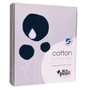 Ecosprout Reversible Cotton Cot Blanket - Orion Blue