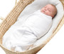 Mum 2 Mum Summer Dream Swaddle -  Small - White