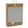 Living Textiles Organic Cot Cellular Blanket - Grey