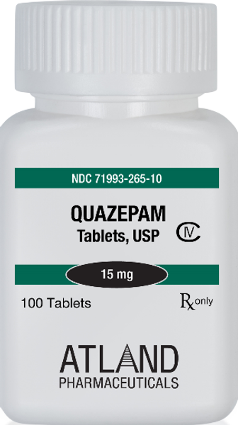 Quazepam 100 count Bottle for the Treatment of Insomnia