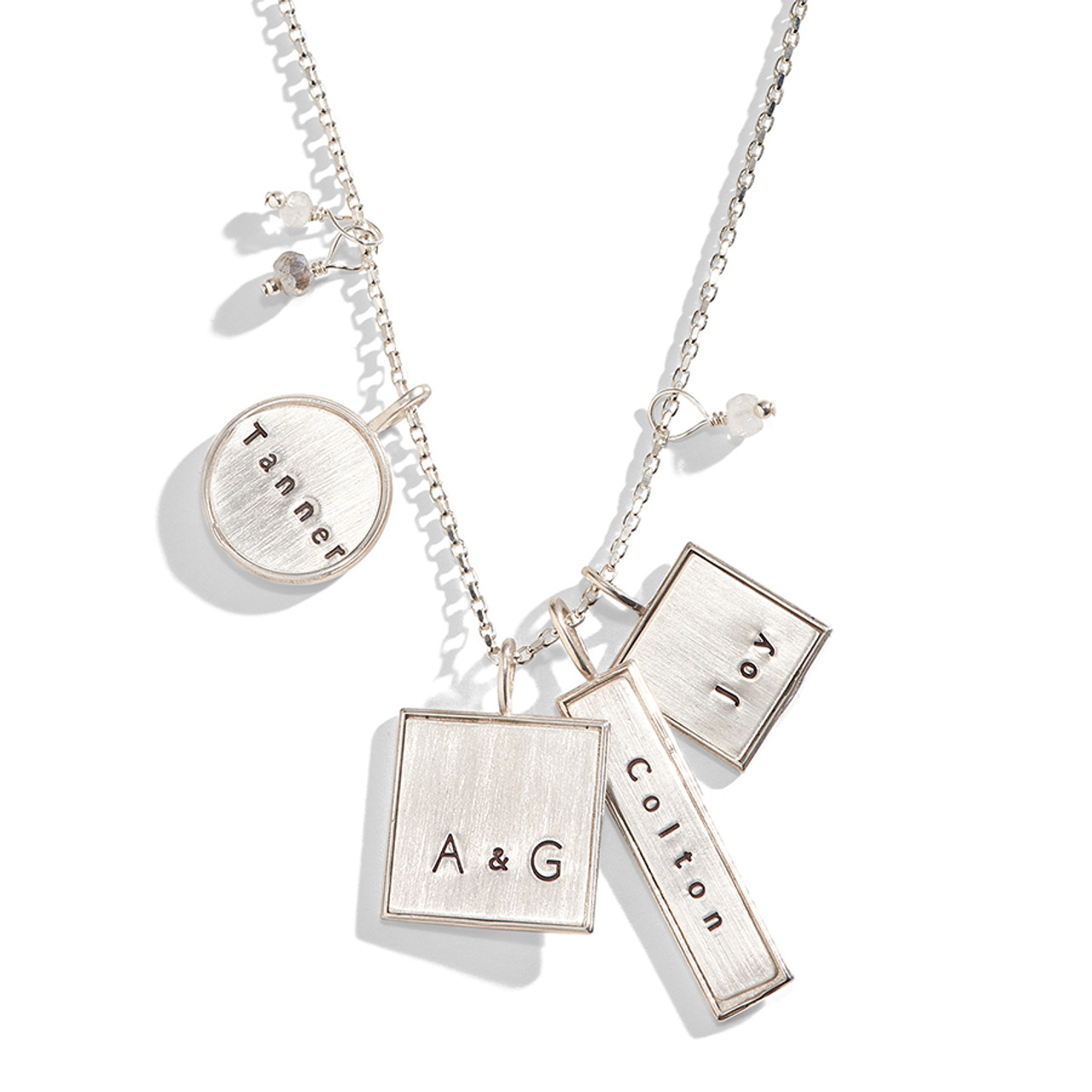 75f8f06ac00ff Valley Girl Mixed Shape Personalized Necklace