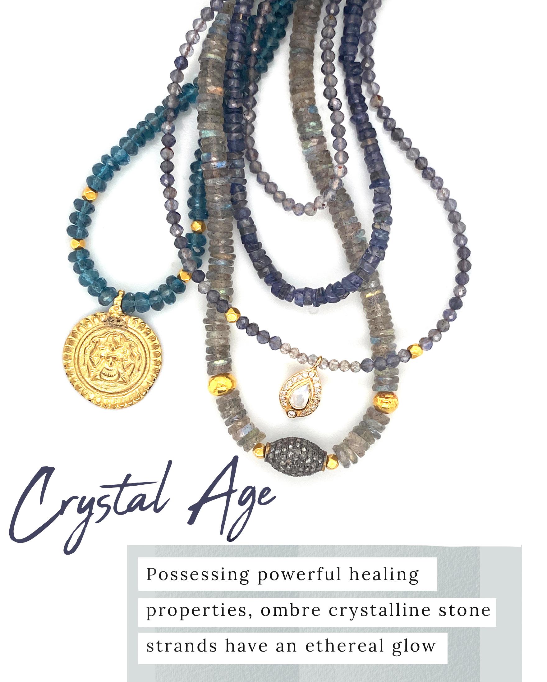 Crystal Gemstone Necklaces