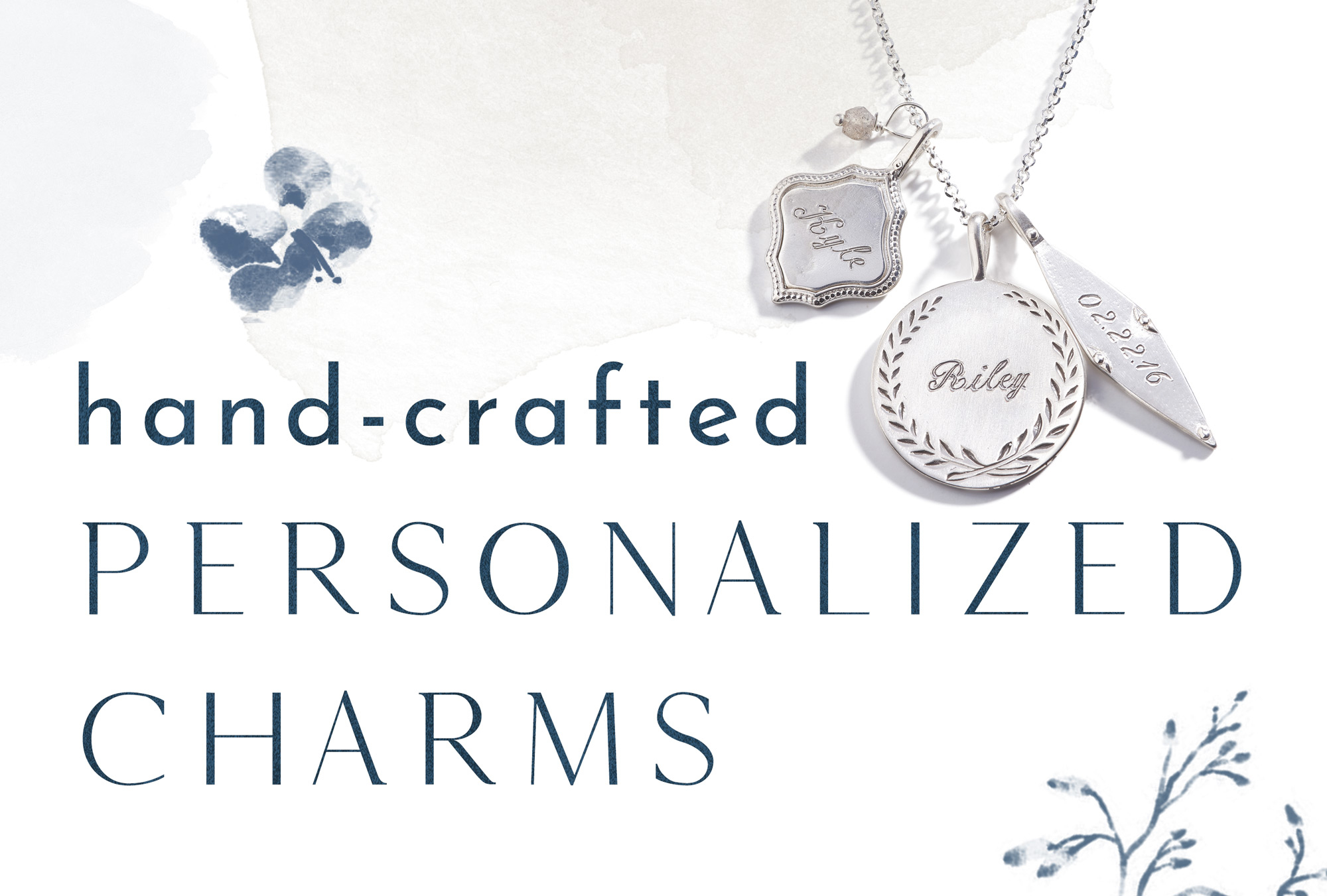Shop Personalized Name Charms