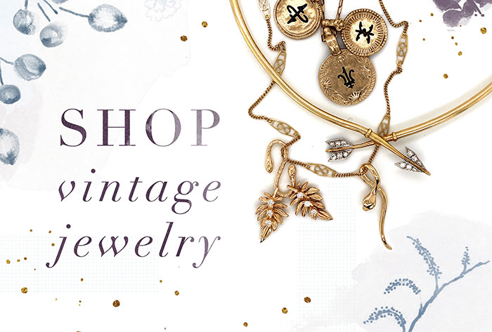 Shop Vintage and Curated Jewelry