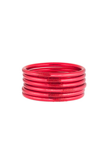 All Weather Bangles Hot Pink Medium