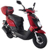 Amigo Q-50-FA 4 Stroke Gas Moped Scooter, USB Port, Front ABS