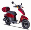 Amigo Znen 2017 PSC-50 49cc Street Legal Scooter, 3.0 HP 4 stroke SOHC Air Cooled
