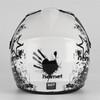 Coolster Motocross Full Face Helmet - White